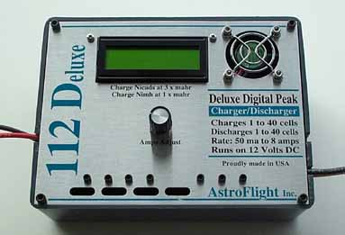 112 DELUXE NICAD/NIMH CHARGER/DISCHARGER