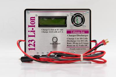 123 LITHIUM ION CHARGER FOR A123 CELLS